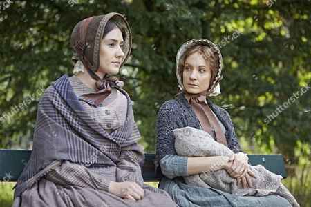 Joanne Froggatt as Mary Ann and Laura Morgan as Maggie Cotton