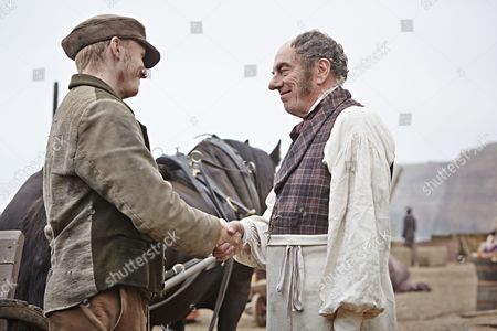 Tom Varey as Billy Mowbray and Alun Armstrong as George Stott
