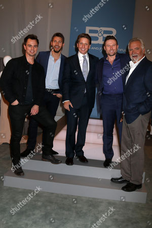 Darin Brooks, Scott Clifton, Bradley Bell, Jacob Young, John McCook