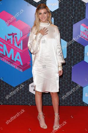Editorial photo of MTV Europe Music Awards, Rotterdam, Netherlands - 06 Nov 2016