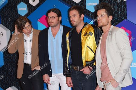 Kings of Leon - Matthew Followill, Caleb Followill, Nathan Followill and Jared Followill