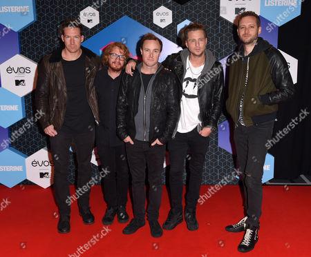 OneRepublic - Ryan Tedder, Zach Filkins, Drew Brown, Eddie Fisher, Brent Kutzle