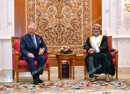 Editorial picture of Prince Charles and Camilla Duchess of Cornwall visit to Oman - 04 Nov 2016