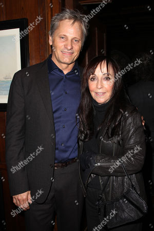 Viggo Mortensen and Bonnie Timmermann