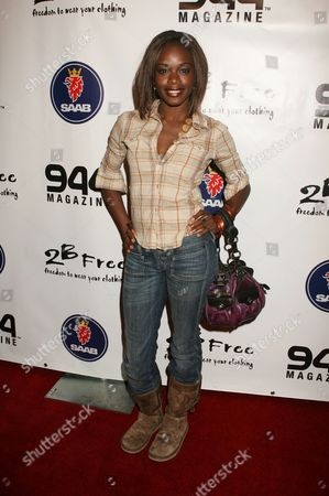 Stock Image of Nzinga Blake