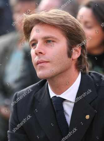 Emanuele Filiberto son of Vittorio Emanuele of Savoia attends the inauguration of the Royal Palace of Venaria, Palace of Savoia family, which has taken 7 years and 250 million euros to restore