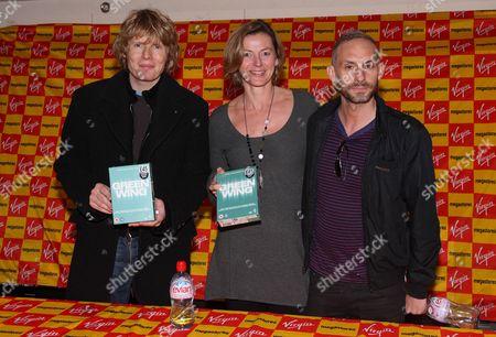 Julian Rhind-Tutt, Pippa Haywood and Karl Theobald