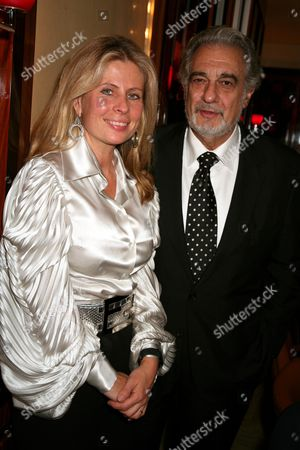 Editorial image of Placido Domingo dinner at Cipriani with the Washington National Opera, London, Britain - 15 Oct 2007