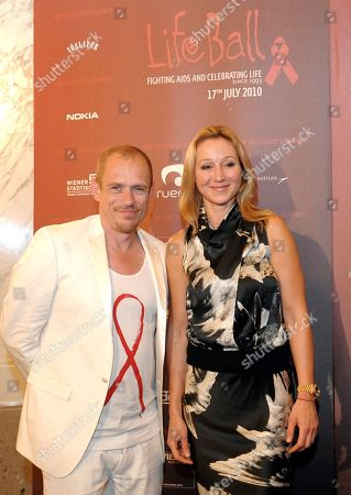 Belina Stronach, Gery Keszler Belina Stronach, The Belinda Stronach Foundation, right, and Life Ball organizer Gery Keszler arrive for a news conference in Vienna, on . Stronach is in Vienna for the Austrian capital's annual Life Ball 2010, a charity gala aimed at raising money for people with AIDS