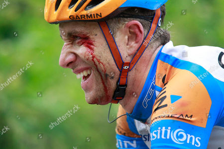 Christian Vandevelde Christian Vandevelde of the US grimaces after crashing during the second stage of the Tour de France cycling race over 201 kilometers (125 miles) with start in Brussels and finish in Spa, Belgium