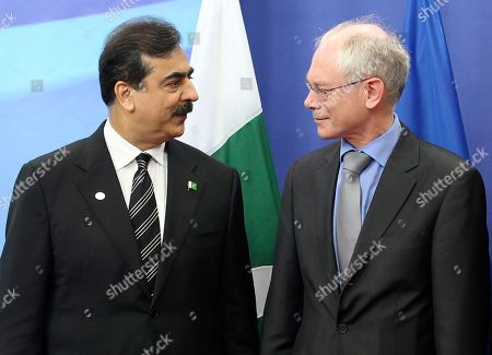 Syed Yousuf Raza Gilani Pakistan's Prime Minister Syed Yousuf Raza Gilani, left, talks with European Council President Herman Van Rompuy, at the European Council building in Brussels