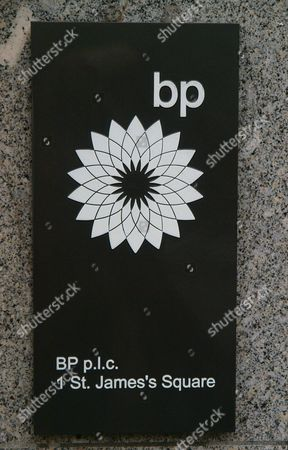 """The BP nameplate on the facade outside the company headquarters in London following reports, that the BP chief executive Tony Hayward would be leaving his post. BP said Monday that """"no final decision"""" had been made about management changes, but American Bob Dudley, the man overseeing the company daily response to the Gulf oil spill crisis, is currently being seen as the most likely choice to replace Hayward"""