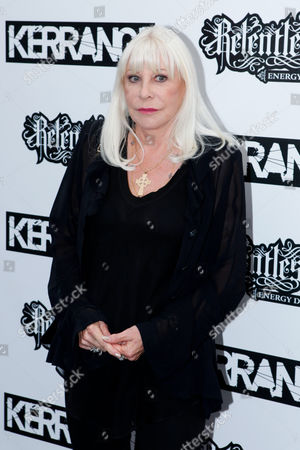 Wendy Dio Wendy Dio arrives at the Relentless Energy Drink Kerrang! Awards at The Brewery, London