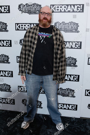 Brian Posehn U.S. actor Brian Posehn arrives at the Relentless Energy Drink Kerrang! Awards at The Brewery, London