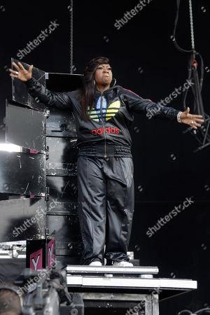 Missy Elliot U.S. singer Missy Elliot performs onstage at the Wireless Festival in Hyde Park, London, . AP Photo/Joel Ryan