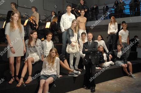 Stock Photo of Kevin Carrigan - Creative Director of Calvin Klein