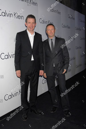 Martin Creed with Kevin Carrigan - Creative Director of ck and Calvin Klein