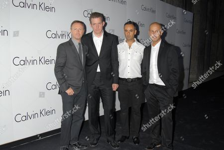 Stock Picture of Kevin Carrigan, Martin Creed, Francisco Costa and Italo Zucchelli