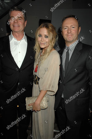 Tom Murry, Mary Kate Olsen and Kevin Carrigan