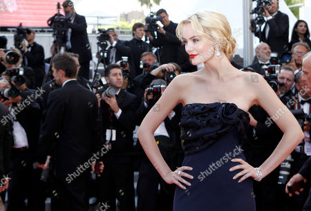 """Helena Mattson Actress Helena Mattsson arrives for the screening of """"Biutiful"""", at the 63rd international film festival, in Cannes, southern France"""