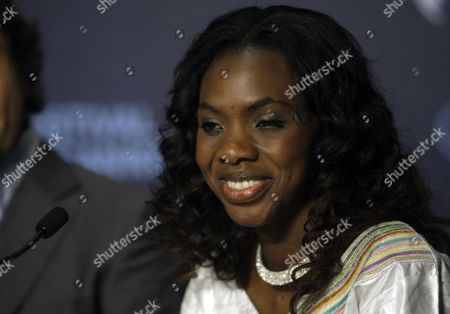 "Diaryatou Daff Actress Diaryatou Daff attends a press conference for ""Biutiful"", at the 63rd international film festival, in Cannes, southern France"
