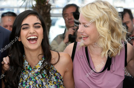 """Liraz Charhi, Naomi Watts Actress Liraz Charhi, left, and actress Naomi Watts, right, pose during a photo call for the film """"Fair Game"""", at the 63rd international film festival, in Cannes, southern France"""