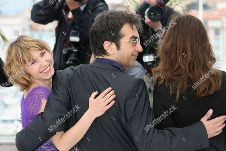 Dinara Droukarova Jury Cinefondation member Dinara Droukarova, Jury Cinefondation president Atom Egoyan and Jury Cinefondation member Emmanuelle Devos pose during a photo call for the Jury Cinefondation, at the 63rd international film festival, in Cannes, southern France