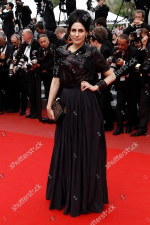"""Ronit Elkabetz Ronit Elkabetz arrives for the screening of """"Outside the Law"""", at the 63rd international film festival, in Cannes, southern France"""