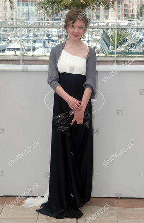 "Olga Shualova Actress Olga Shuvalova poses during a photo call for the film ""Schastye Moe"", at the 63rd international film festival, in Cannes, southern France"