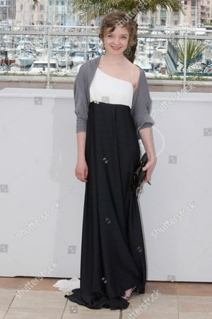 "Olga Shuvalova Actress Olga Shuvalova poses during a photo call for the film ""Schastye Moe"", at the 63rd international film festival, in Cannes, southern France"