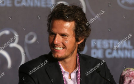 """Ricardo Trepa Actor Ricardo Trepa attends the press conference of """"Strange Case of Angelica"""", at the 63rd international film festival, in Cannes, southern France"""