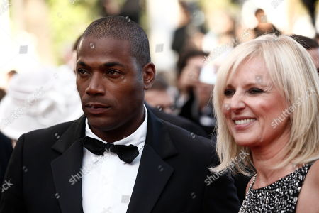 """Stock Picture of Lord Kossity Lord Kossity, left, arrives for the screening of the film """"The Exodus - Burnt By The Sun 2"""", at the 63rd international film festival, in Cannes, southern France"""