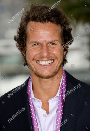 """Ricardo Trepa Actor Ricardo Trepa poses during a photo call for """"The Strange Case of Angelica"""", at the 63rd international film festival, in Cannes, southern France"""