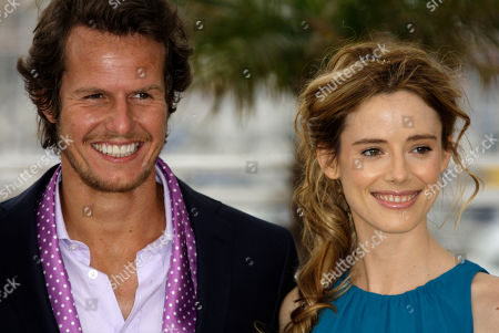 """Ricardo Trepa, Pilar Lopez de Ayala Actor Ricardo Trepa, left, and actress Pilar Lopez de Ayala, right, pose during a photo call for """"The Strange Case of Angelica"""", at the 63rd international film festival, in Cannes, southern France"""