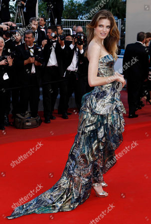 """Alessia Piovan Actress Alessia Piovan arrives for the screening of """"Wall Street Money Never Sleeps"""", at the 63rd international film festival, in Cannes, southern France"""