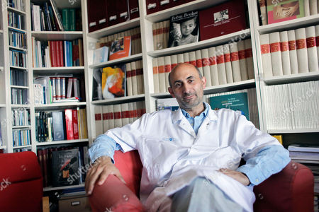 Laurent Lantieri French surgeon Laurent Lantieri poses in his office at the Henri Mondor hospital in Creteil, south of Paris, . Lantieri said he has conducted a full-face transplant including eyelids and tear ducts, in a rare operation on a 35-year-old man with a genetic disorder. He claimed also it was the first of its kind involving so many different parts of the face