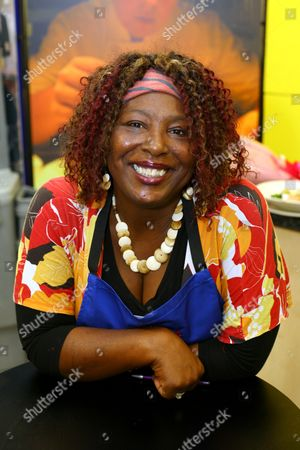 Editorial picture of Charita Jones (Momma Cherri) at a Cookery Demonstration in Brighton, Sussex, Britain - 12 Oct 2007