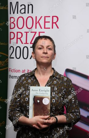 Anne  Enright, author of 'The Gathering'