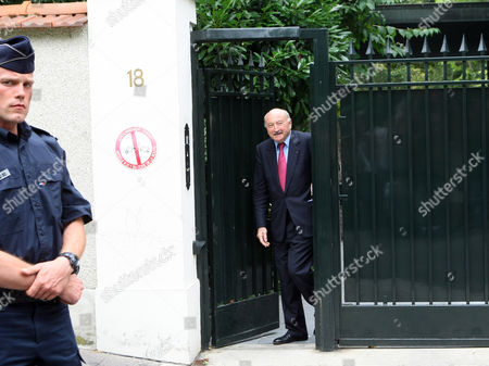 Georges Kiejman Georges Kiejman lawyer of Liliane Bettencourt's leaves the villa, in the Neuilly sur Seine suburb Paris, Monday July, 26, 2010. The heiress to the L'Oreal cosmetics fortune was questioned Monday by French investigators in a probe into her finances that has embroiled President Nicolas Sarkozy's government