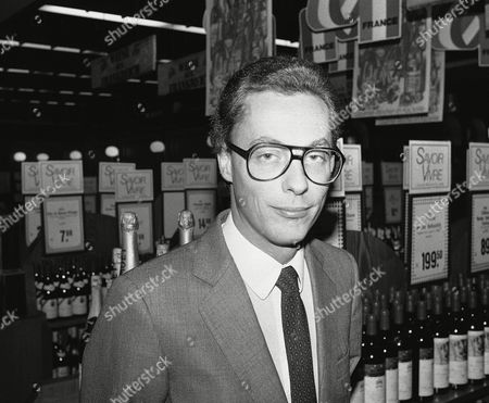 Stock Photo of Portrait of French director Gilles Hennessy taken in November 1983 in Berlin, Germany