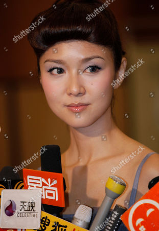 """Fiona Sit Hong Kong actress Fiona Sit attends a premiere of her new film """" Break up club """" in Hong Kong"""