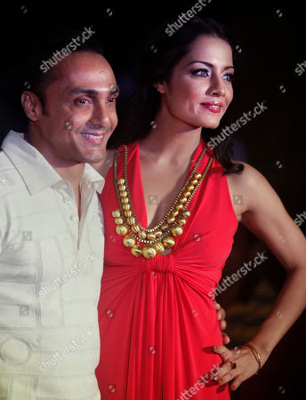 Rahul Bose Celina Jaitley Bollywood actor Rahul Bose, left, walks with actress Celina Jaitley as she displays a creation by Ranna Gill during a fashion show in Hyderabad, India