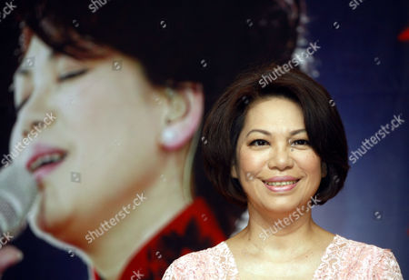 Tsai Chin Taiwanese veteran songstress Tsai Chin poses during a press conference in Kuala Lumpur, Malaysia, . Tsai will perform live in concert on July 24