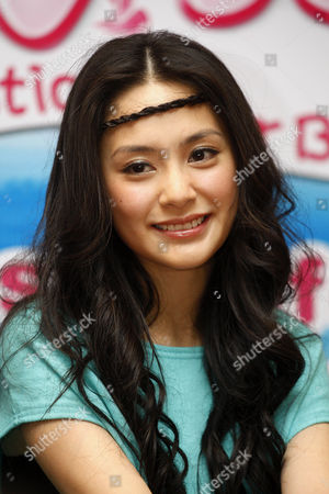 """Gillian Chung Hong Kong actress Gillian Chung smiles during a press conference to promote her new movie """"The Fantastic Water Babes"""" in Kuala Lumpur, Malaysia"""