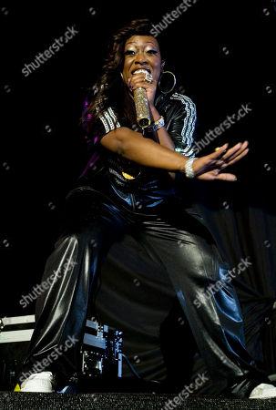 Stock Image of Missy Elliot U.S singer Missy Elliot performs in Tel Aviv, Israel