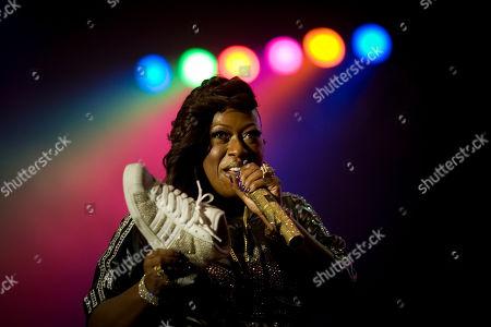 Stock Photo of Missy Elliot U.S singer Missy Elliot performs in Tel Aviv, Israel
