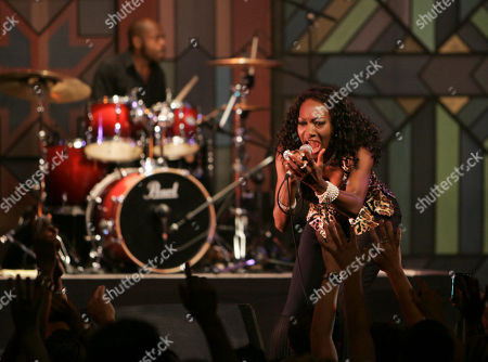 Maizie Williams Maizie Williams, right, sings with her band Boney M, during a concert in the West Bank city of Ramallah