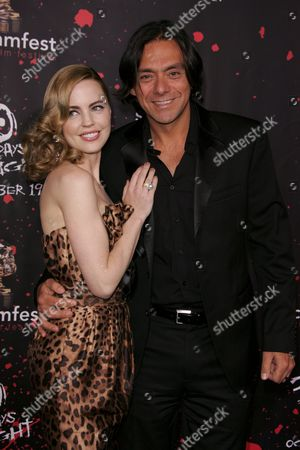 Melissa George and husband Claudio Dabed
