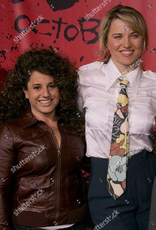 Marisa Jaret Winokur and Lucy Lawless