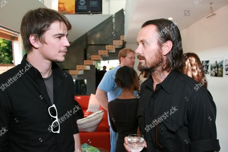 Josh Hartnett and Designer Rogan Gregory